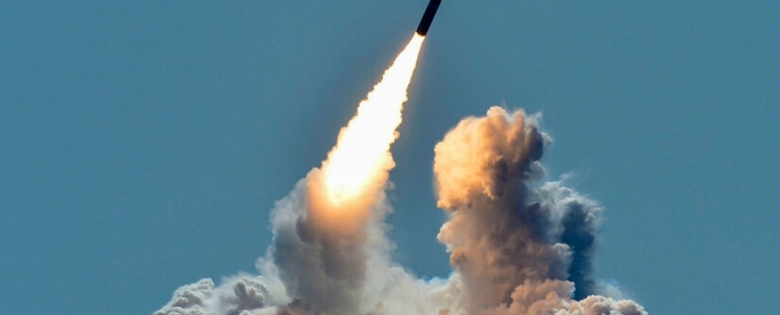 nuclear missile launch at sea